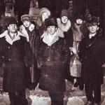 Эльза, Катя, Люда, Наталья, Виктор Юхимчук, Леонид Бак, Сергей Бак (19.01.1991)